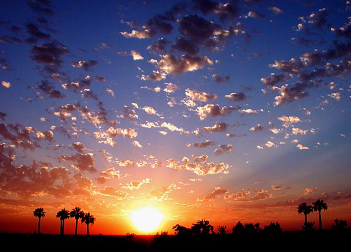Sunset 16 July 2002