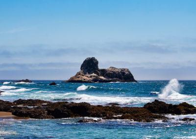 Sphinx Rock - Piedras Blancas