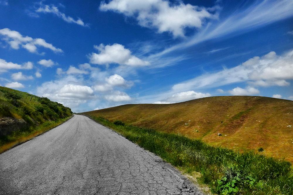 "Caliente Bodfish Road - 24""x36"""