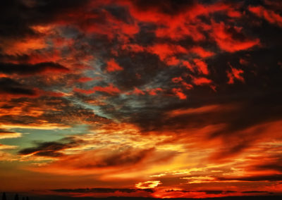 "Fire In The Sky - 16""x20"""