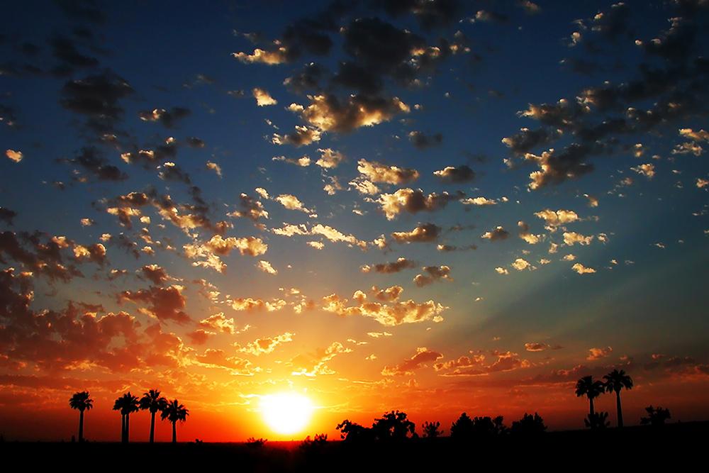 """Panorama Sunset - 20""""x30"""""""