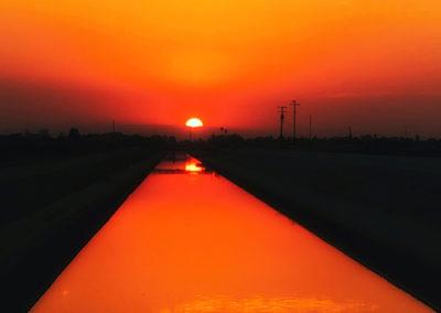 """Sun Canal - 36""""x24"""""""