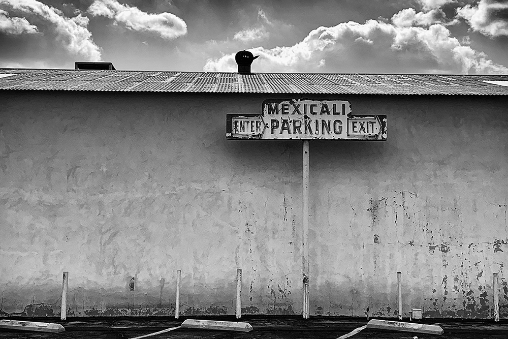 "Mexicali Parking - 16""x24"""