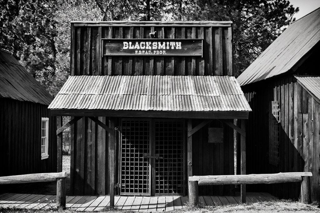 Idaho-City---Blacksmith